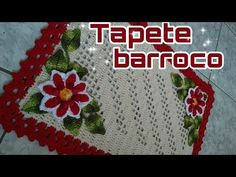 Tapete Barroco Simples #aldacilenecrochê - YouTube Crochet Table Mat, Bathroom Crafts, Crochet Mandala, Crochet Videos, Crochet For Beginners, Crochet Designs, Doilies, Floor Rugs, Diy And Crafts