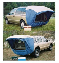 DAC Explorer 2 - Minivan and Sport Utility Vehicle Tent at Campmor for $130 plus shipping