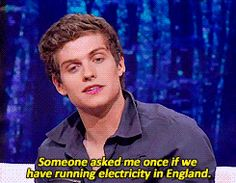 """That time that Daniel Sharman vindicated America's secession. 