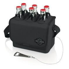 Picnic Time Harley-Davidson Six-Porter Insulated Beverage Tote $35.99