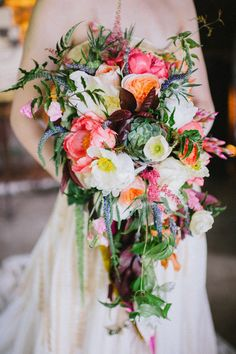 Edgy Bohemian Wedding Inspiration