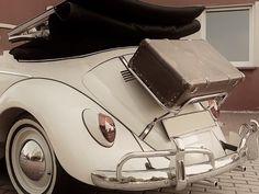 VW Beetle Boot Luggage Rack