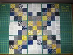 Happy Quilting: Super Scrappy Triple Irish Chain Block - A Tutorial