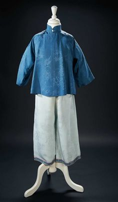 """Love, Shirley Temple, Collector's Book: Lot # 311 Chinese Silk Costume Worn by Shirley Temple in the 1936 Film """"Stowaway"""""""