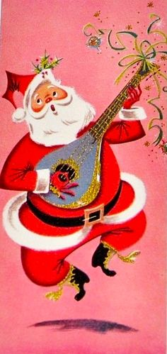 Coming from a smoke free home. Holiday Images, Vintage Christmas Images, Retro Christmas, Vintage Holiday, Christmas Pictures, Santa Pictures, Vintage Greeting Cards, Christmas Greeting Cards, Christmas Greetings
