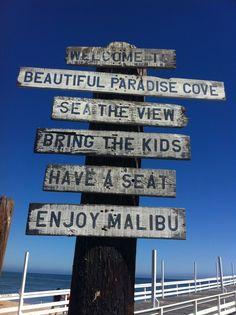 Welcome to Malibu, California