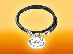 You are my sunshine bracelet.