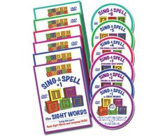 Sing & Spell DVD Collections