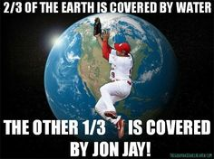 I want this on a t-shirt! My favorite cards player!!
