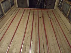 Picture of Putting A Heated Floor In A Bus (part 1)