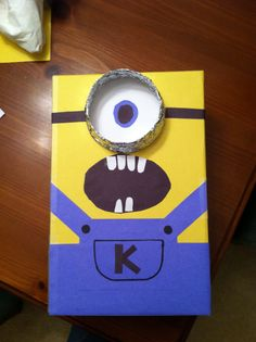 Minion Valentine's Box