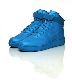Nike Air Force 1 bright blue