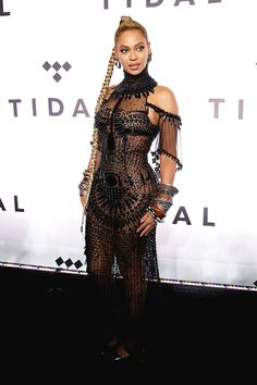 Beyoncé attends TIDAL X: 1015 at Barclays Center on October 15, 2016 in New York City.