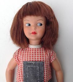 Vintage #1960s #sindy sister #patch doll with auburn hair.,  View more on the LINK: 	http://www.zeppy.io/product/gb/2/291695152969/