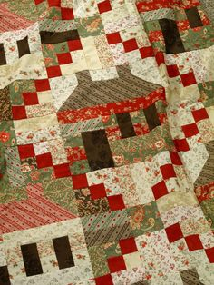 I like the close-up of this quilt.  Would like to throttle back and see the whole thing.