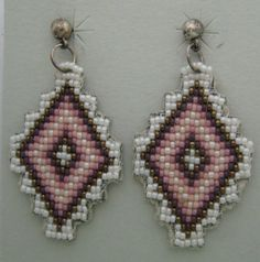 NATIVE AMERICAN BEADED EARRING PATTERNS – Browse Patterns