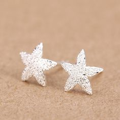 Womens 100% 925 Sterling Silver Jewelry Fashion cute Tiny 5 stars Stud Earrings Gift for Girls Friend Kids Lady  DS25