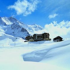 Bellevue des Alpes, Kleine Scheidegg, Switzerland http://www.scheidegg-hotels.ch/index1.php