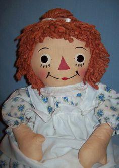 Raggety Ann 1950's doll