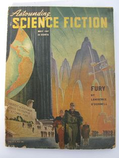 vintage sci-fi magazines | Vintage sci-fi magazine, Astounding Science Fiction - May 1947, pulp ...