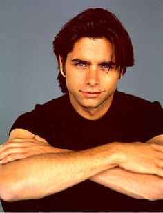 Who didn't have a crush on Uncle Jesse?  bad boy biker dude with a sensitive side...making girls want impossible things when they grow up. LOL