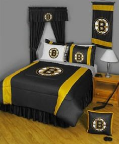 Boston bruins room workshop projects pinterest Bruins room decor