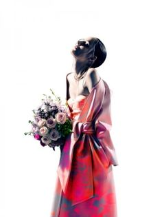 """Loving this elegant """"Holy Flowers"""" editorial from Dazed and Confused October 2012"""
