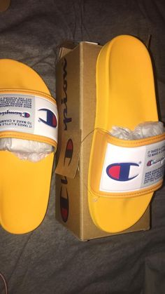 Shop Women's Champion Yellow Orange size 5 Slippers at a discounted price at Poshmark. Description: Champion women slides💛 Size 5 New condition💛.