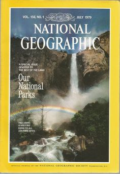 National Geographic- July Our National Parks. Cool Magazine, Magazine Design, Magazine Covers, National Geographic Cover, 21st Century Fox, Science Articles, Picture Wall, Photo Wall, World Cultures