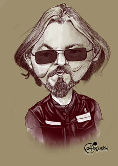 Caricature Sons of Anarchy | Sons of anarchy sketches - part 1