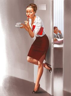 ☺ Shhh - Pin-up style