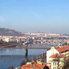 The view from Vysehrad Hradcany Prague