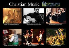 Discover what Christian music actually is at www.NewReleaseTuesday.com and www.facebook.com/newreleasetuesday