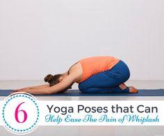 Six Yoga Poses that Can Help Ease the Pain of Whiplash - 42Yogis.com http://www.42yogis.com/yoga/item/six-yoga-poses-that-can-help-ease-the-pain-of-whiplash