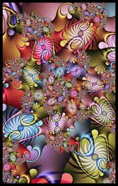 "Today's fractal picture is ""cabuchon"" by kayandjay via Deviantart. Fractal Images, Fractal Art, Iphone Wallpaper Tumblr Aesthetic, Fractal Geometry, Fractal Design, Art For Art Sake, Graphic Design Art, Pretty Pictures, Colorful Backgrounds"