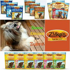 To Dog With Love: Zuke's Giveaways Galore!