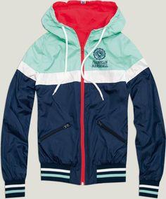 Franklin and Marshall fleece and nylon jacket