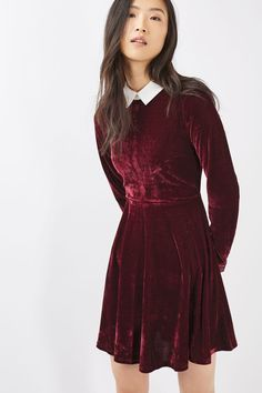 **Collared Skater Dress by Oh My Love - New In This Week - New In - Topshop Europe