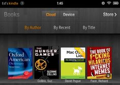 Share e-book passages on the Kindle Fire.