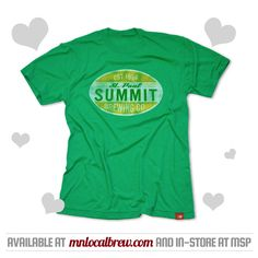 Summit Distressed Oval Tee. From our Local Brew #ValentinesDay Gift Guide! Get the perfect #gift for your #beerlover.