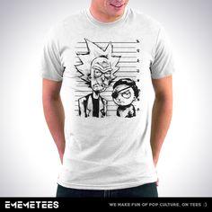Intergalactic Criminals (męska koszulka t-shirt)
