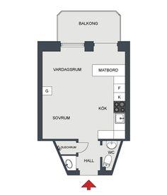 Quando o estilo escandinavo se junta com um apartamento pequeno, o resultado costuma ser muito bacana. E esse apartamento de apenas 21 metros quadrados não