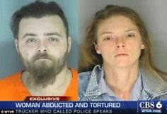 Trucker Saved Tortured Sex Captive From Alleged Sex Trafficking Couple (Video)