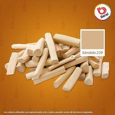 Nuestro color sándalo es ideal para complementarlo con tonalidades intensas #hogar #decoracion