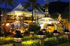 The Movenpick restaurant complex is fine dining at good prices in Karon Beach Phuket, Thailand