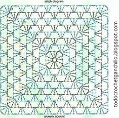 patron de cuadro de abuelita crochet
