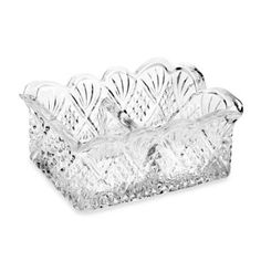 Godinger Dublin 4-Inch Sugar Packet Holder - BedBathandBeyond.com
