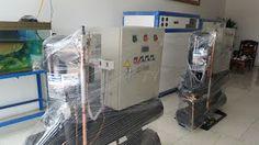 Máy chiller công nghiệp Gas r407c