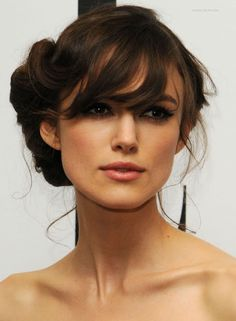 Keira Knightly up do