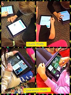 iPaddling through Fourth Grade-Encourage...Engage...Enlighten...Empower: Guided Math in an iPad Classroom